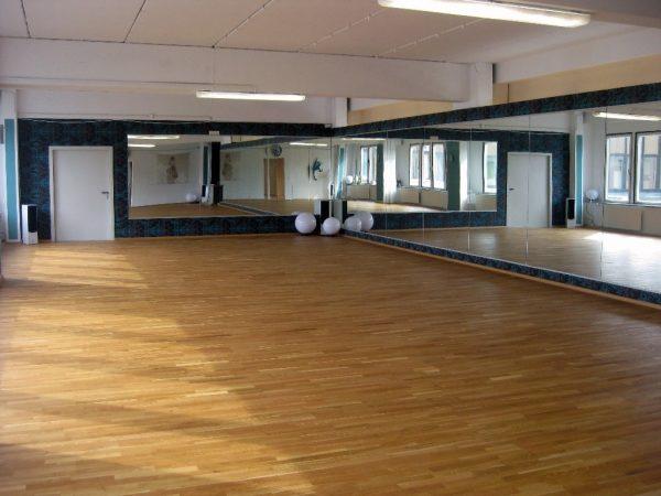 Bild großer Saal im Outfaced Dance Studio