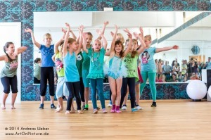 Kindertanz im Outfaced Dance Studio