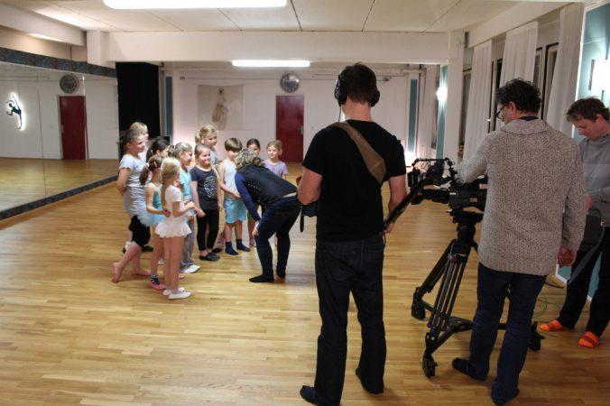 Das RBB zu Gast im Outfaced Dance Studio