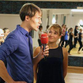 Der rbb zu Gast in unserem Tanzstudio