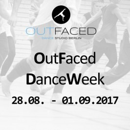 Outfaced DanceWeek vom 28.08. – 01.09.2017